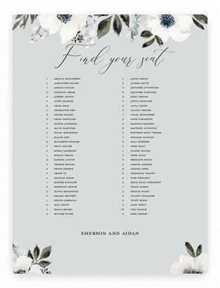 nantucket romance Seating Charts
