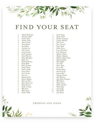 Verdure Seating Charts
