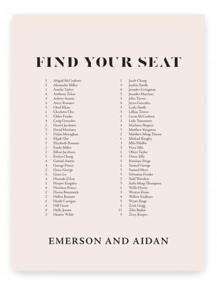 Finally Seating Charts