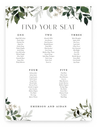Grove Seating Charts