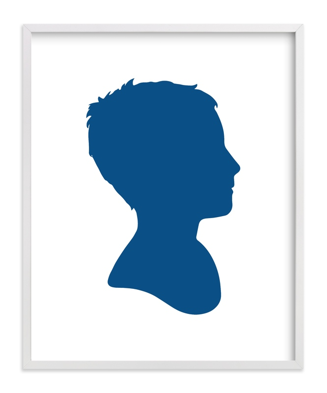 """""""Custom Silhouette Art"""" - Silhouette Digital Art by Minted in beautiful frame options and a variety of sizes."""