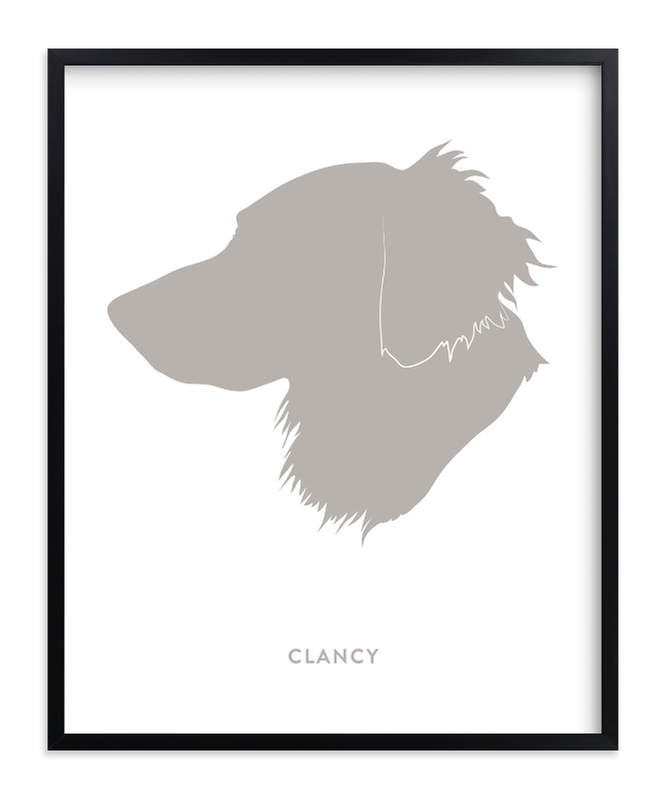 Custom Pet Silhouette Art Custom Silhouette Art