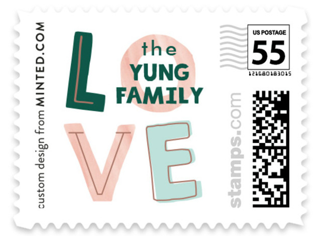 Mix and Mingle Custom Everyday Stamps