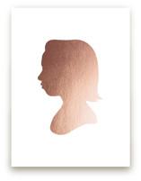 Custom Silhouette Foil Art Silhouette Art
