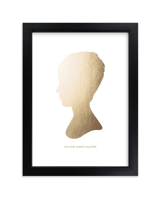 """""""Silhouette Foil  Art"""" - Silhouette Foil Art by Minted in beautiful frame options and a variety of sizes."""