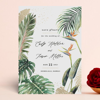 Our Paradise save the date