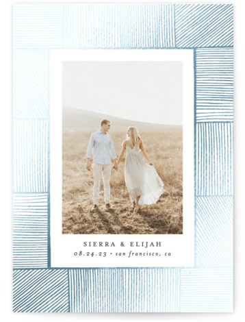 Ethereal Romance Foil-Pressed Save The Date Cards