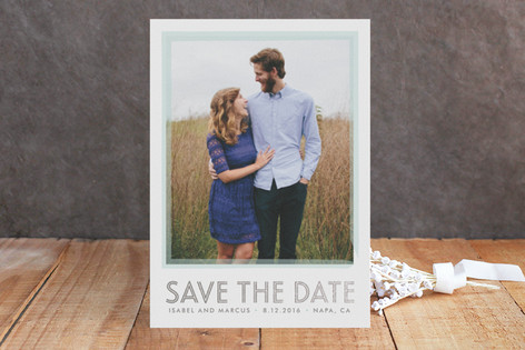 Timeless Love Foil-Pressed Save The Date Cards