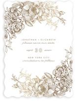 Engraved Flowers