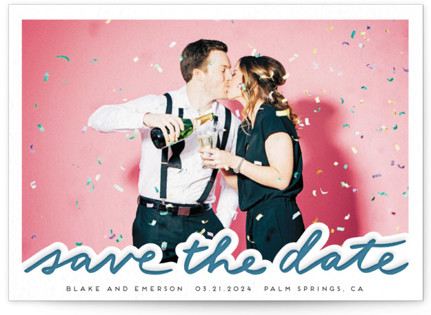 photo of Our Day Letterpress Save The Date Cards