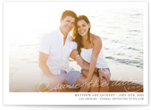 Vintage Photograph Save the Date Petite Cards