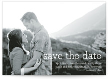 Simply in Love Save the Date Petite Cards