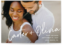 Signature Save the Date Petite Cards