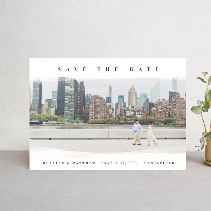 """ficchi"" - Save The Date Petite Cards in Stone by chocomocacino."