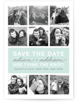 Photo Gallery Save the Date Petite Cards