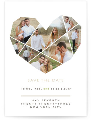 photo of Complete Love Save The Date Petite Cards