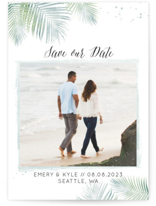 Sunny Wedding Save the Date Petite Cards