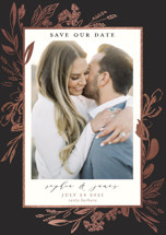 Our Day Foil-Pressed Save the Date Magnets By Susan Moyal