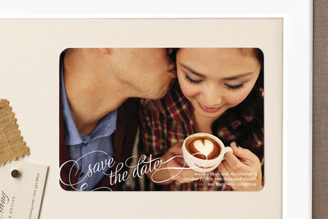 Save in Script Save The Date Magnets