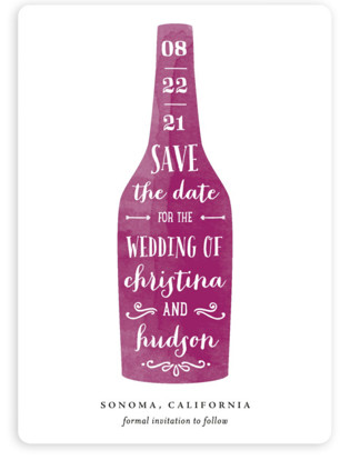 photo of Winery Save The Date Magnets