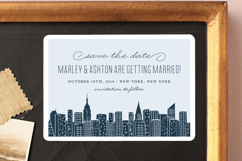 Big City - New York City Save The Date Magnets
