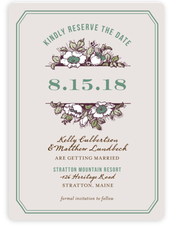 This is a portrait rustic, purple Save the Dates by Paper Dahlia called Harvest Floral with Standard printing on Magnet Paper in Magnet Flat Card format. Our most popular Save the Date designs are now available as beautiful, high quality ...