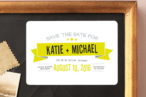 Afterparty Save The Date Magnets