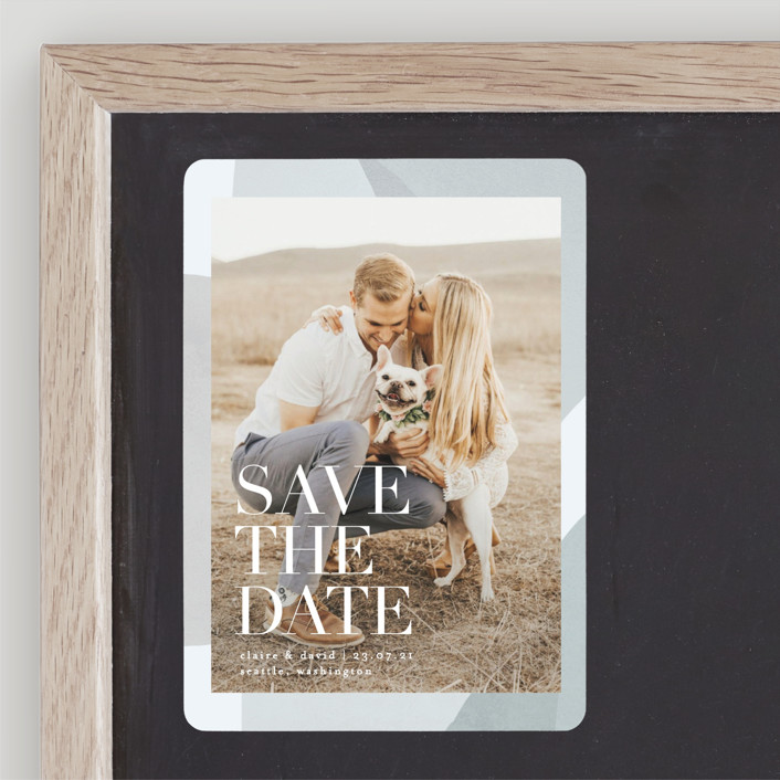 """""""Galeria"""" - Save The Date Magnets in Autumn Desert by Kelly Schmidt."""
