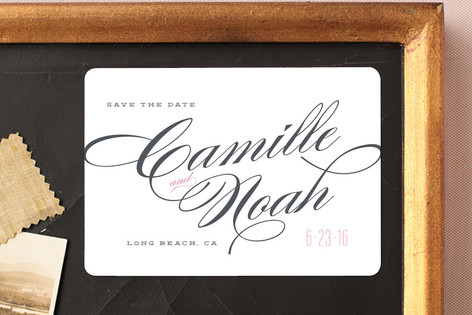 Classique Save The Date Magnets