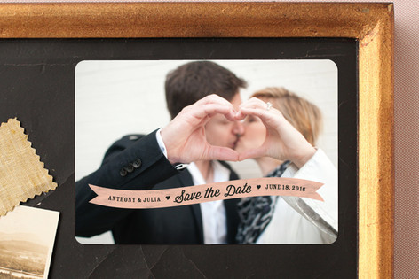 Sweethearts Save The Date Magnets