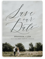 Flowing Love Save the Date Magnets By Erika Firm