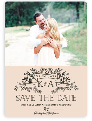 Wedding Bouquet Save the Date Magnets