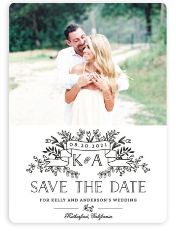This is a portrait rustic, black, black and white Save the Dates by Chris Griffith called Wedding Bouquet with Standard printing on Magnet Paper in Magnet Flat Card format. Our most popular Save the Date designs are now available as ...