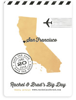 State Your Date - California Save The Date Magnets