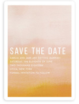 Ombre Save The Date Magnets