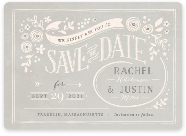 This is a landscape rustic, pink Save the Dates by Jennifer Wick called Alabaster Florals with Standard printing on Magnet Paper in Magnet Flat Card format. Our most popular Save the Date designs are now available as beautiful, high quality ...