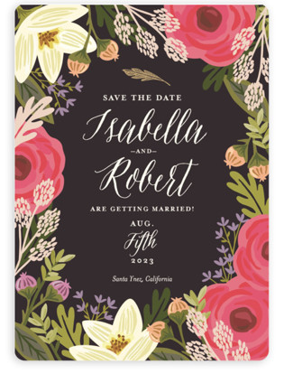 Rhapsody Save the Date Magnets
