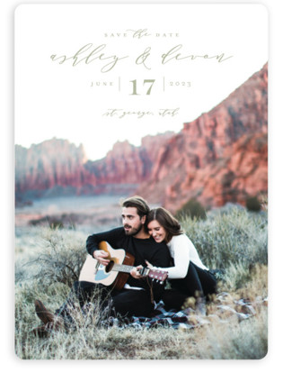 photo of Serenade Save The Date Magnets