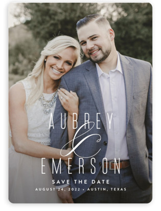 photo of Resplendent Save The Date Magnets