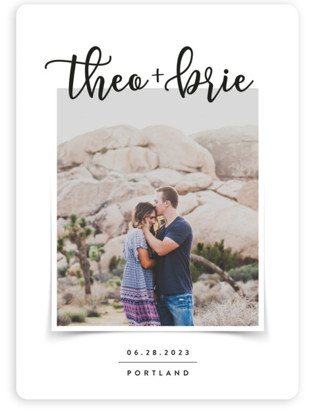 Favorite Photo Save the Date Magnets