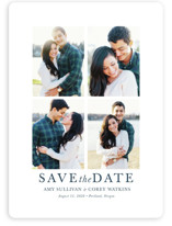 make it merrier Save the Date Magnets By Jula Paper Co.