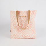 This is a pink snap tote by Liz Conley called Painted Damask.