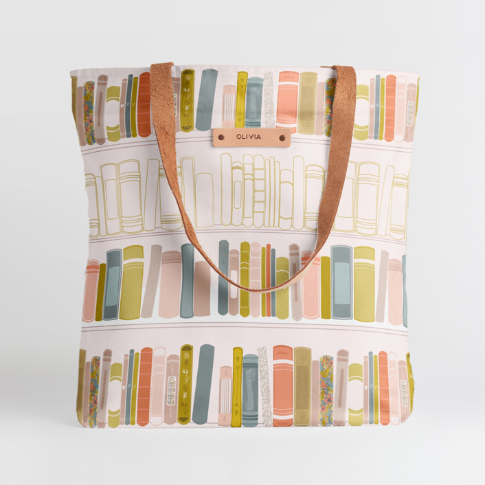 So Many Stories Snap Tote, $30
