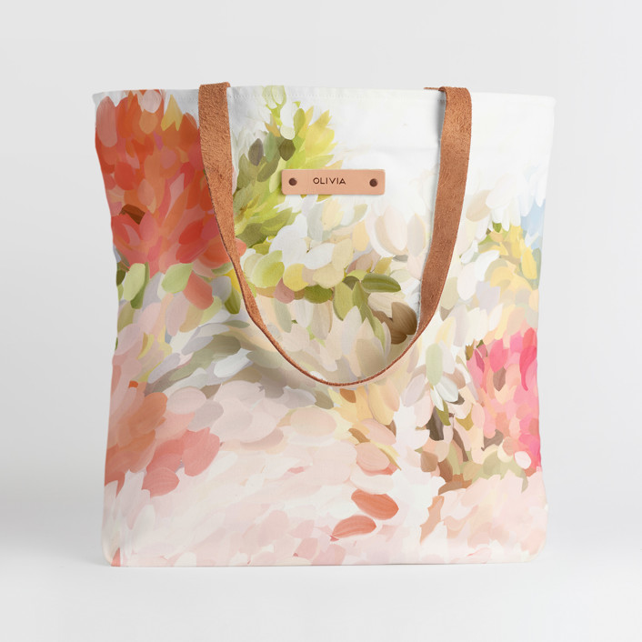 personalized tote bag for Mother's Day