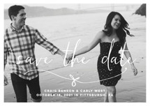 Knotted Save the Date Postcards By Lea Delaveris