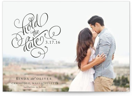 Hold the Date Save the Date Postcards