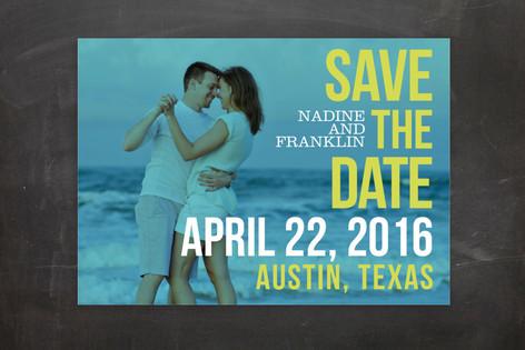 Love Bop Save The Date Postcards