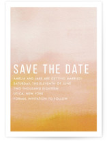 Ombre Save The Date Postcards