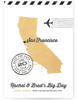 State Your Date - California Save The Date Postcards