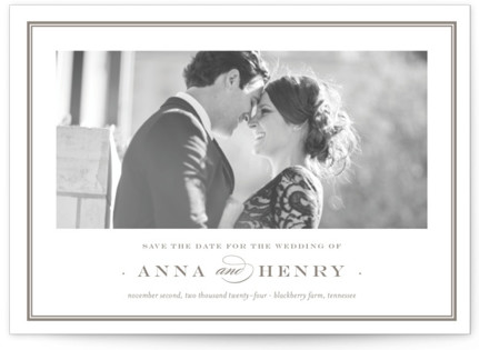 photo of Field Save The Date Postcards